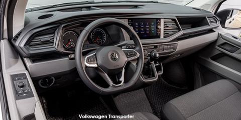 Volkswagen Transporter 2.0TDI 110kW crew bus LWB - Image credit: © 2021 duoporta. Generic Image shown.
