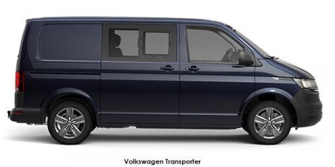 Volkswagen Transporter 2.0BiTDI 146kW crew bus LWB 4Motion - Image credit: © 2021 duoporta. Generic Image shown.