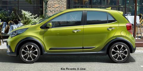 Kia Picanto 1.2 X-Line - Image credit: © 2021 duoporta. Generic Image shown.