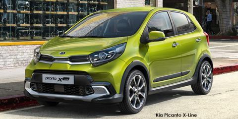 Kia Picanto 1.2 X-Line auto - Image credit: © 2021 duoporta. Generic Image shown.