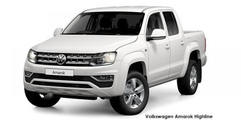 Volkswagen Amarok 2.0BiTDI double cab Highline 4Motion auto - Image credit: © 2021 duoporta. Generic Image shown.