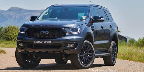 Ford Everest 2.0SiT XLT Sport - Image credit: © 2021 duoporta. Generic Image shown.