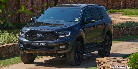 Ford Everest 2.0SiT 4WD XLT Sport - Image credit: © 2021 duoporta. Generic Image shown.