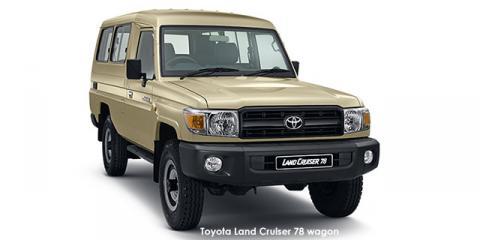 Toyota Land Cruiser 78 4.2D wagon - Image credit: © 2021 duoporta. Generic Image shown.