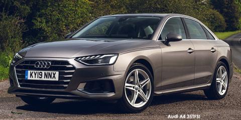 Audi A4 35TDI - Image credit: © 2021 duoporta. Generic Image shown.