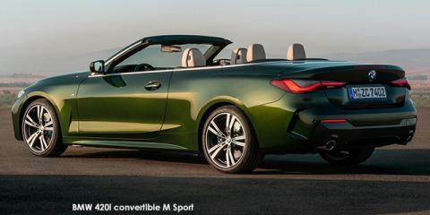 BMW 420i convertible M Sport - Image credit: © 2021 duoporta. Generic Image shown.