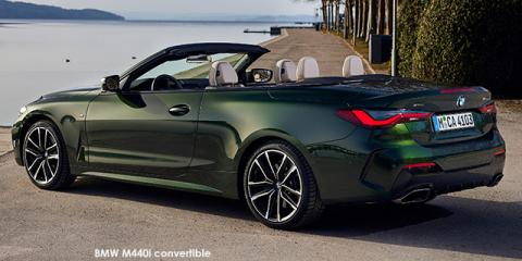 BMW M440i xDrive convertible - Image credit: © 2021 duoporta. Generic Image shown.