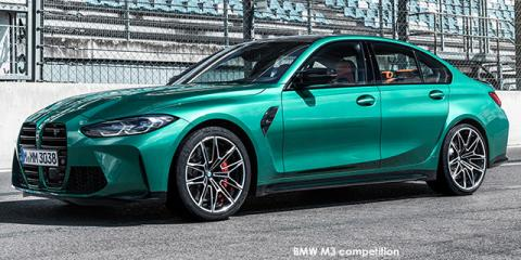 BMW M3 competition - Image credit: © 2021 duoporta. Generic Image shown.