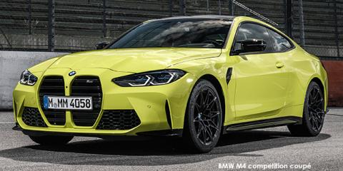 BMW M4 competition coupe - Image credit: © 2021 duoporta. Generic Image shown.
