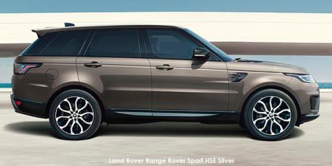 Land Rover Range Rover Sport HSE Silver TDV6 - Image credit: © 2021 duoporta. Generic Image shown.