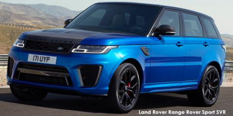 Land Rover Range Rover Sport SVR - Image credit: © 2021 duoporta. Generic Image shown.
