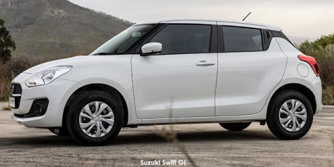 Suzuki Swift 1.2 GL auto - Image credit: © 2021 duoporta. Generic Image shown.