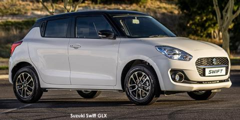 Suzuki Swift 1.2 GLX auto - Image credit: © 2021 duoporta. Generic Image shown.