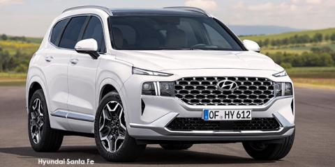 Hyundai Santa Fe 2.2D 4WD Elite - Image credit: © 2021 duoporta. Generic Image shown.
