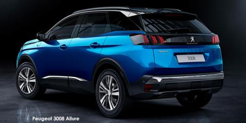 Peugeot 3008 1.6T Allure - Image credit: © 2021 duoporta. Generic Image shown.