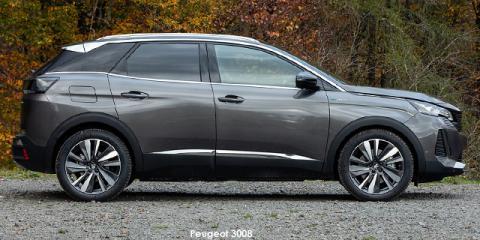 Peugeot 3008 1.6T GT - Image credit: © 2021 duoporta. Generic Image shown.