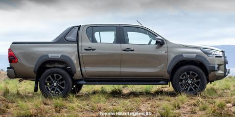Toyota Hilux 2.8GD-6 double cab 4x4 Legend auto (de-spec 21) - Image credit: © 2021 duoporta. Generic Image shown.