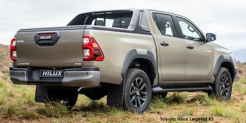 Toyota Hilux 2.8GD-6 double cab 4x4 Legend RS auto (de-spec 21) - Image credit: © 2021 duoporta. Generic Image shown.