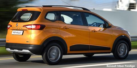 Renault Triber 1.0 Prestige auto - Image credit: © 2021 duoporta. Generic Image shown.