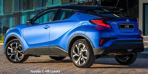 Toyota C-HR 1.2T Luxury - Image credit: © 2021 duoporta. Generic Image shown.