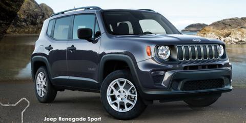 Jeep Renegade 1.4T Sport - Image credit: © 2021 duoporta. Generic Image shown.