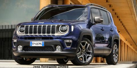 Jeep Renegade 1.4T Limited - Image credit: © 2021 duoporta. Generic Image shown.
