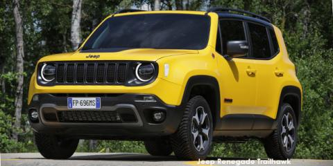 Jeep Renegade 2.4 4x4 Trailhawk - Image credit: © 2021 duoporta. Generic Image shown.