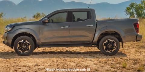 Nissan Navara 2.5DDTi double cab LE 4x4 - Image credit: © 2021 duoporta. Generic Image shown.