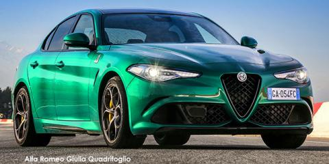 Alfa Romeo Giulia Quadrifoglio - Image credit: © 2021 duoporta. Generic Image shown.