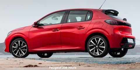Peugeot 208 1.2T Allure - Image credit: © 2021 duoporta. Generic Image shown.