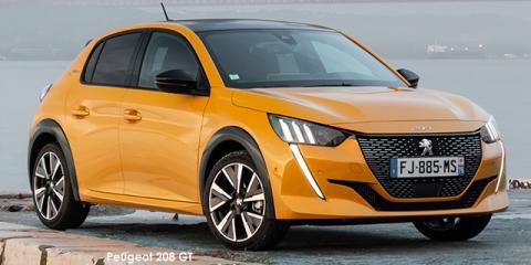 Peugeot 208 1.2T GT - Image credit: © 2021 duoporta. Generic Image shown.