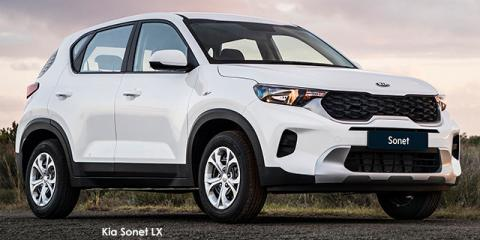 Kia Sonet 1.5 LX auto - Image credit: © 2021 duoporta. Generic Image shown.