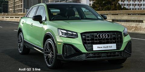 Audi Q2 35TFSI Advanced - Image credit: © 2021 duoporta. Generic Image shown.