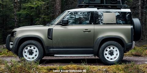 Land Rover Defender 90 P300 S - Image credit: © 2021 duoporta. Generic Image shown.