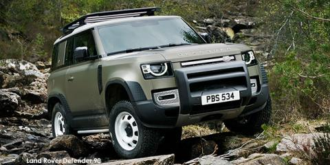Land Rover Defender 90 D300 S - Image credit: © 2021 duoporta. Generic Image shown.