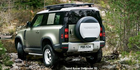 Land Rover Defender 90 P400 S - Image credit: © 2021 duoporta. Generic Image shown.