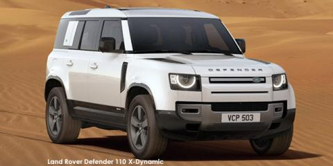 Land Rover Defender 110 P400 X-Dynamic HSE - Image credit: © 2021 duoporta. Generic Image shown.