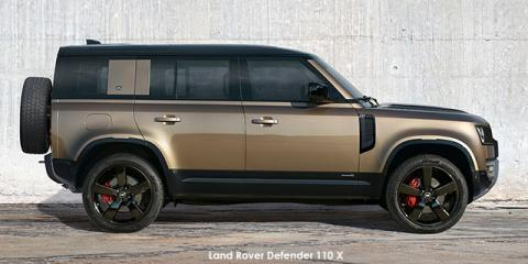 Land Rover Defender 110 P400 X - Image credit: © 2021 duoporta. Generic Image shown.