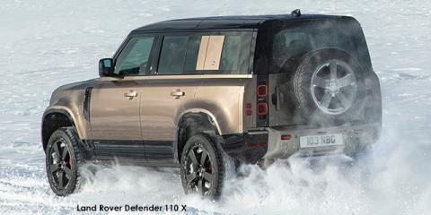 Land Rover Defender 110 P400e X - Image credit: © 2021 duoporta. Generic Image shown.