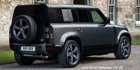 Land Rover Defender 110 V8 - Image credit: © 2021 duoporta. Generic Image shown.