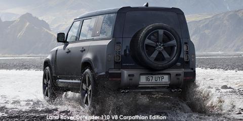 Land Rover Defender 110 V8 Carpathian Edition - Image credit: © 2021 duoporta. Generic Image shown.