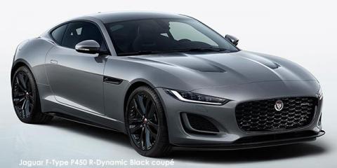 Jaguar F-Type P450 R-Dynamic Black coupe - Image credit: © 2021 duoporta. Generic Image shown.
