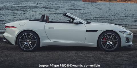 Jaguar F-Type P450 R-Dynamic convertible - Image credit: © 2021 duoporta. Generic Image shown.