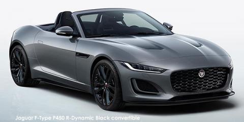 Jaguar F-Type P450 R-Dynamic Black convertible - Image credit: © 2021 duoporta. Generic Image shown.