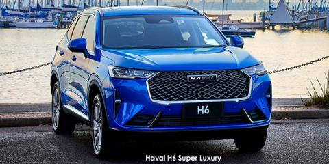 Haval H6 2.0T 4WD Luxury - Image credit: © 2021 duoporta. Generic Image shown.