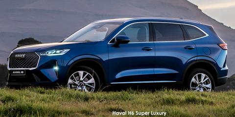 Haval H6 2.0T 4WD Super Luxury - Image credit: © 2021 duoporta. Generic Image shown.