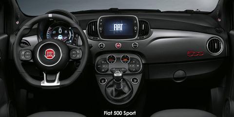 Fiat 500 TwinAir Sport - Image credit: © 2021 duoporta. Generic Image shown.