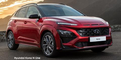 Hyundai Kona 1.6T N Line - Image credit: © 2021 duoporta. Generic Image shown.