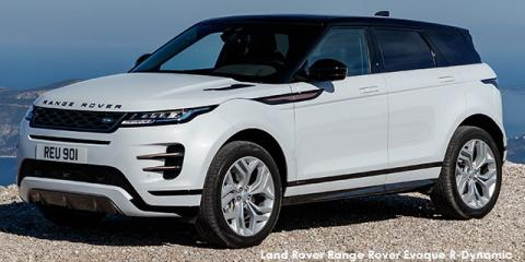 Land Rover Range Rover Evoque P250 R-Dynamic S - Image credit: © 2021 duoporta. Generic Image shown.