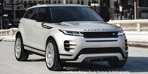 Land Rover Range Rover Evoque P250 Autobiography - Image credit: © 2021 duoporta. Generic Image shown.